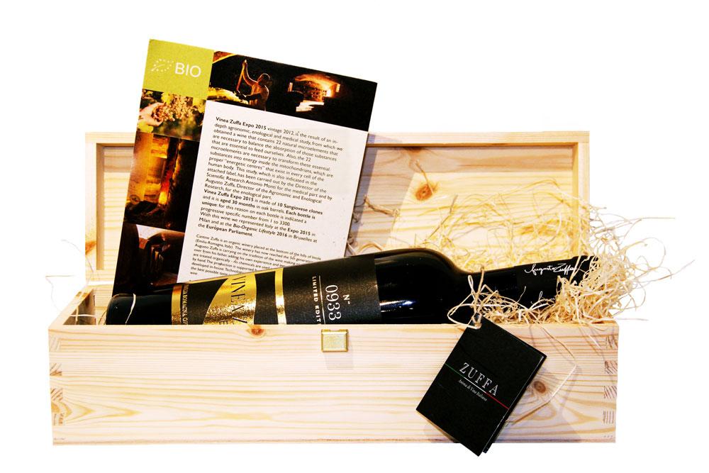Vino biologico autoctono Vinea Expo Zuffa