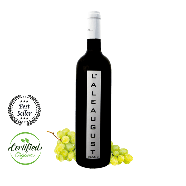 vino biologico autoctono Aleaugust Blanc
