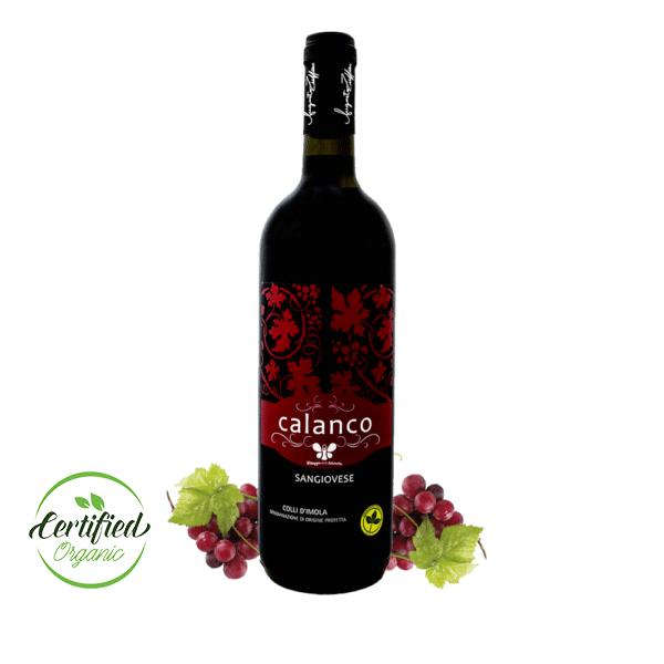vino biologico autoctono calanco sangiovese