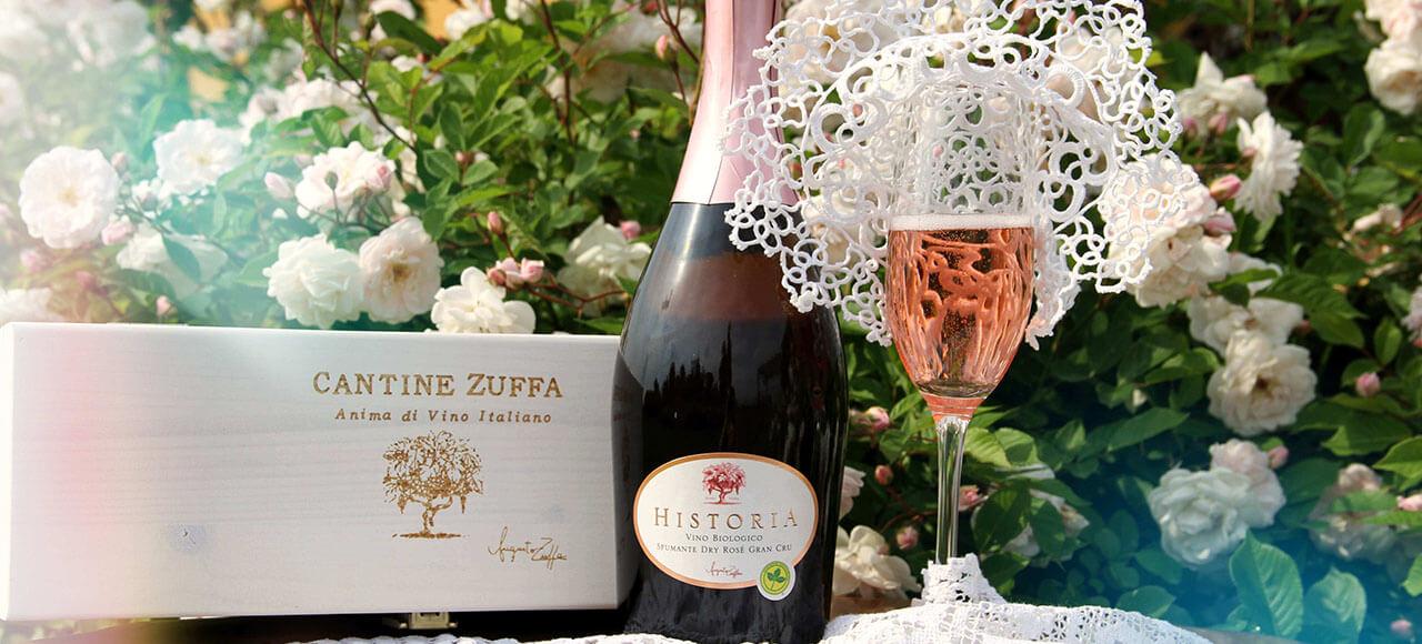Vino Zuffa biologico Rosè
